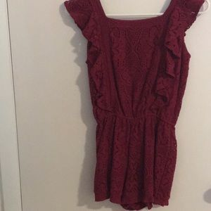 Abercrombie and Fitch Kids Maroon Jumper